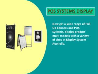 Different Types of POS System Displays