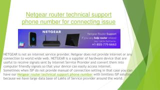 Netgear router helpline phone number