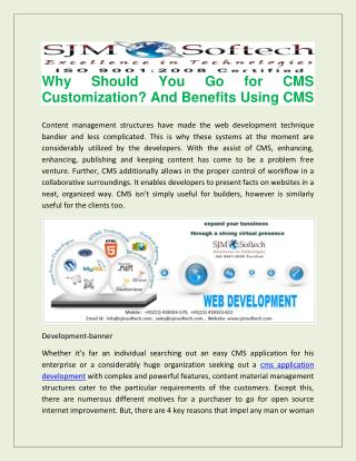 Best cms application development company in india