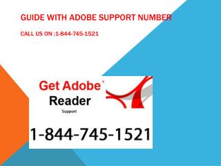 adobe support number 1-844-745-1521