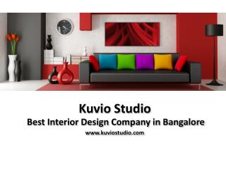 Hire Interior Architects Designers in Bangalore - Kuviostudio