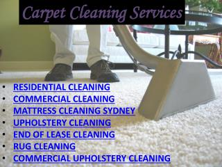 Best Commercial & Residential Cleaners Sydney