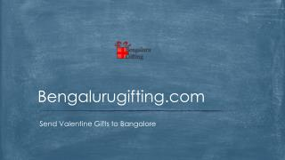 Valentine Gifts to Bangalore