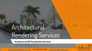 Architectural Rendering Services Company, 3D Rendering India