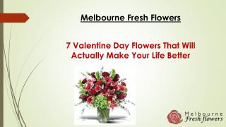 7 Valentine Day Flowers That Will Actually Make Your Life Better | Melbourne Fresh Flowers