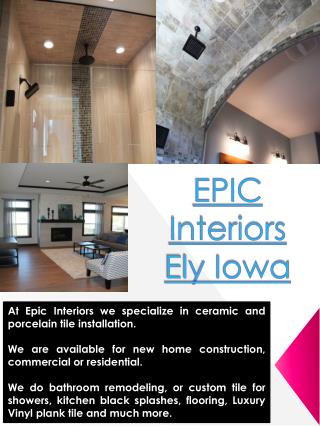 EPIC Interiors Ely Iowa