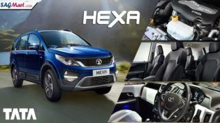 Tata Hexa Variants in India 2017