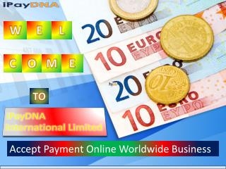 Accept Payment Online Worldwide Business