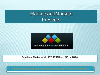 How you can Graphene Market worth 278.47 Million USD by 2020?