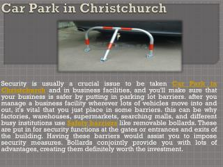 Car Park in Christchurch