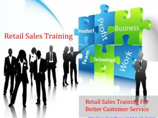 Retail sales training for better customer service