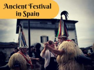 Ancient festival in Spain