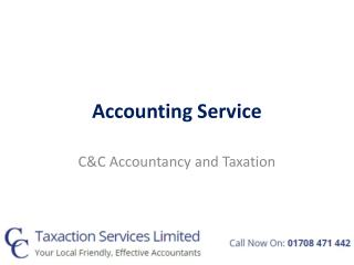 Accounting Service with C&C Accountancy
