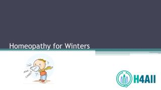 Homeopathy for Winters