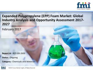 Expanded Polypropylene (EPP) Foam Market Segments, Opportunity, Growth and Forecast By End-use Industry 2016-2026