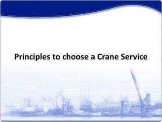 Farana Crane