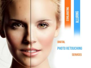 Digital photo retouching services