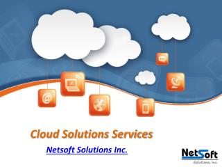 Cloud Solutions Services