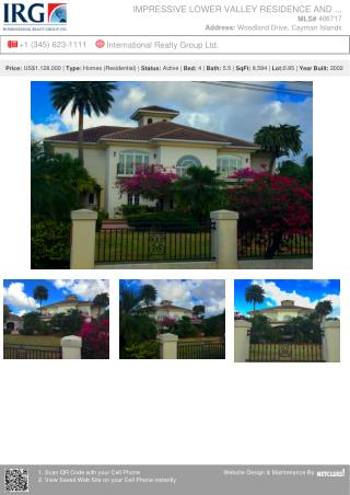 Impressive Lower Valley Residence and Grounds - Residential Property by  IRG Cayman