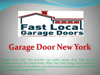 Garage Door New York
