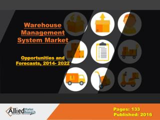 Warehouse Management Systems Market Share, Growth 2022