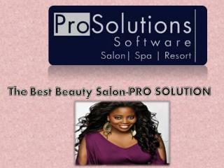 The Best Beauty Salon-PRO SOLUTION