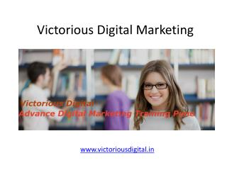 Best Digital Marketing Training Institute in Pune & PCMC