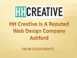 HH Creative Is A Reputed Web Design Company Ashford