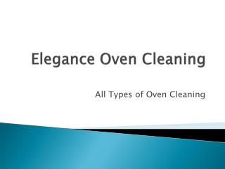 oven cleaning sydney