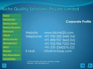 Niche QS Consulting Services for Food sector – ISO 22000, FSSC 22000, BRC-Food, BRC, Packaging, AIB