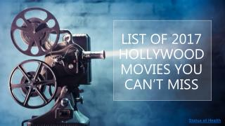 2017 hollywood movie list you've got to watch