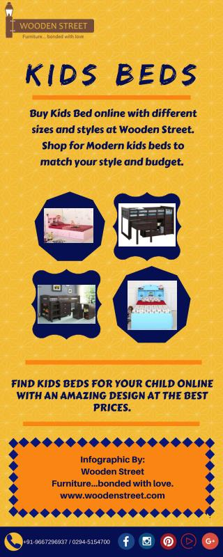 Buy kids beds at best prices online India