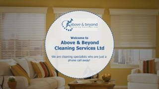 Ceiling Cleaning in Auckland by Above & Beyond Cleaning Services Ltd