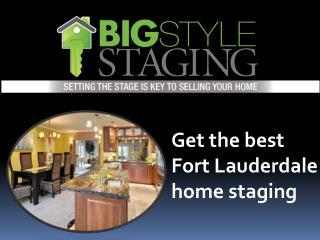 Find Fort Lauderdale home staging