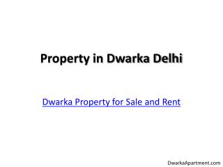 Ready to Move Property in Dwarka