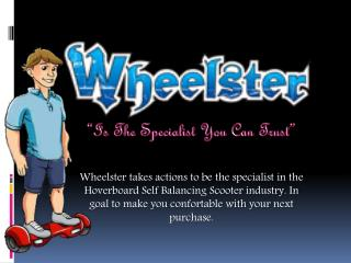 You Can Trust Wheelster Hover Board Cheap
