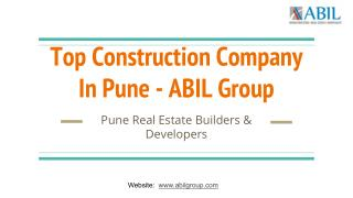Top Construction Company in Pune | ABIL Group