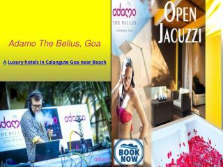 Hotels in Calangute Goa near Beach