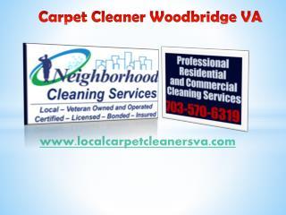 Carpet Cleaner Woodbridge VA - localcarpetcleanersva.com