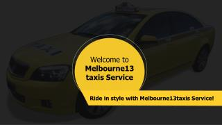 Melbourne13taxis
