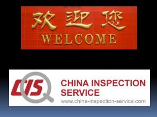 : International Standard Factory Quality Inspection Services in China