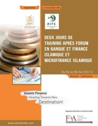 IBF & IMF Workshop (French) Cameroon