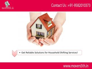 Movers5th  Best Relocation Services