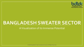 Bangladesh sweater Sector- A Visualization of its Immense Potential