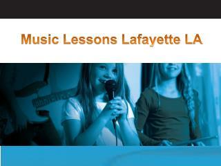 Music Lessons Lafayette LA