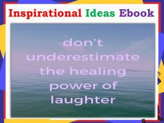 Inspirational Ideas Ebook