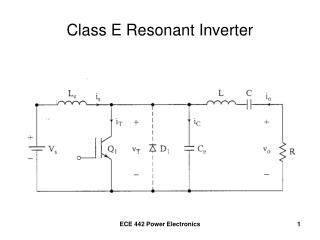 Class E Resonant Inverter