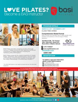 Become a BASI Instructor