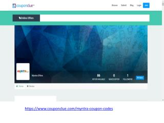 Myntra coupon codes for shoes