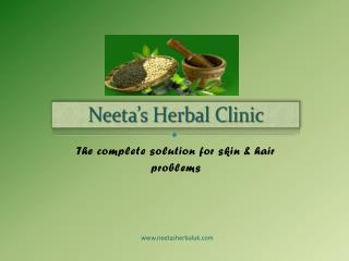 Neeta's herbal Clinic- haiecare treatment